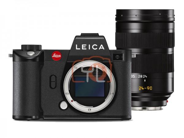Leica SL2 Full Frame Mirrorless Camera (10856) + 24-90mm F2.8-4 Vario-Elmarit-SL ASPH (11176)