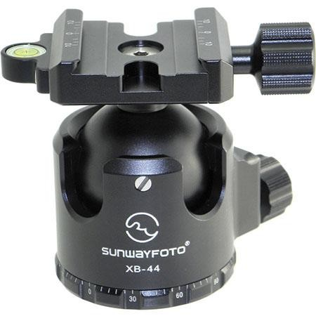 Sunwayfoto XB-44 Low Profile Ball Head with Screw Knob Clamp