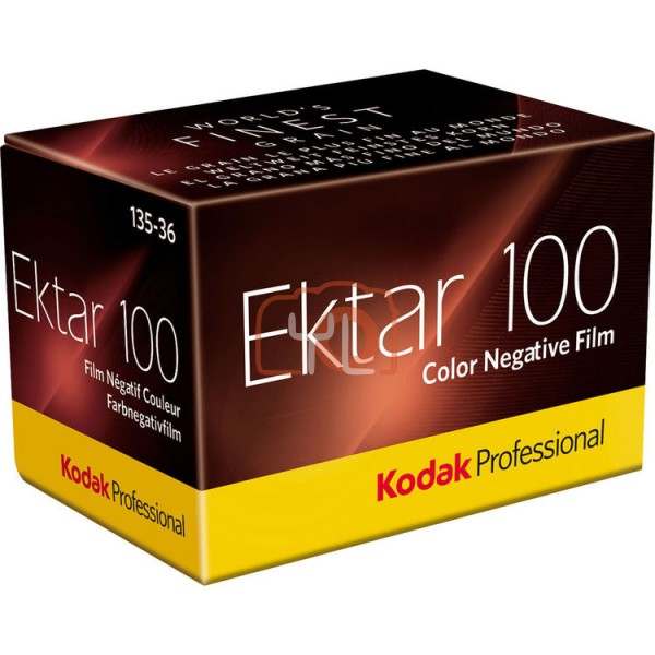 Kodak Ektar 100 Color Negative Film (35mm Roll Film)