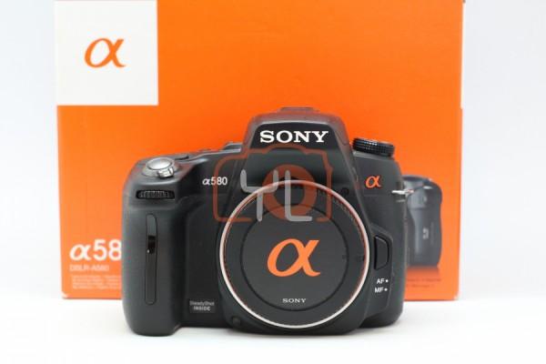 [USED-PUDU] Sony A580 Alpha DSLR CAMERA 95%LIKE NEW CONDITION SN:2361841