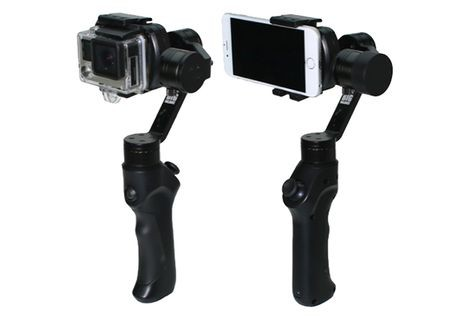 (SPECIAL DEAL) Big Balance Husky HY3M 3-Axis Handheld Gimbal for Smartphone and GoPro