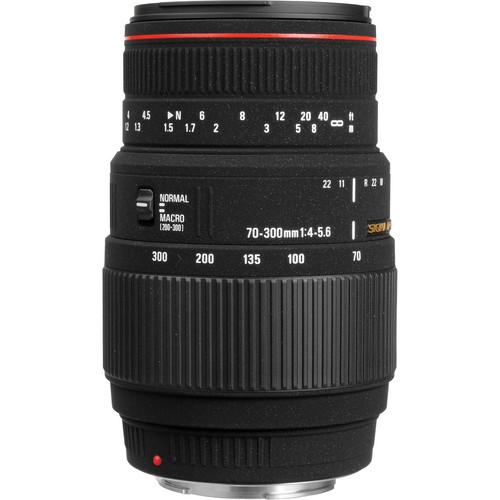 Sigma APO 70-300mm F4-5.6 DG Macro Lens (Sony)