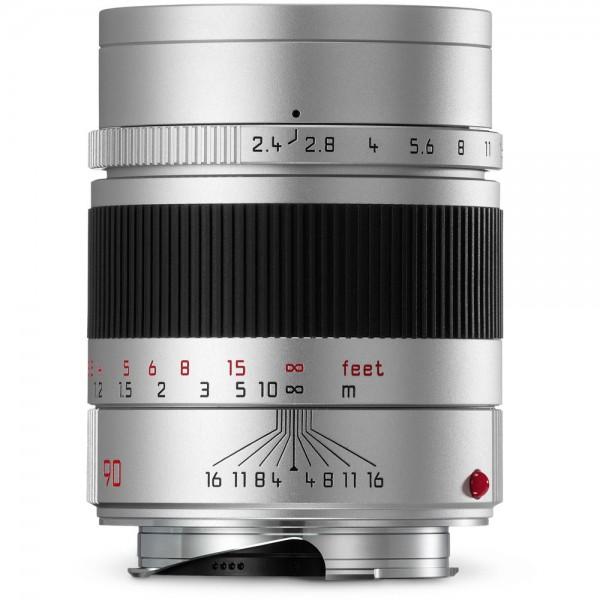 Leica 90mm F2.4 Summarit-M - Silver (11685)