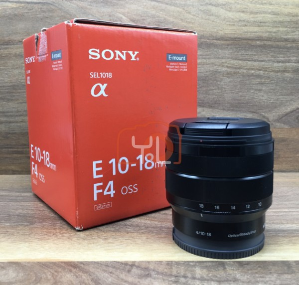 [USED @ YL LOW YAT]-Sony E 10-18mm F/4 OSS Lens For E-Mount,95% Condition Like New,S/N:2059218