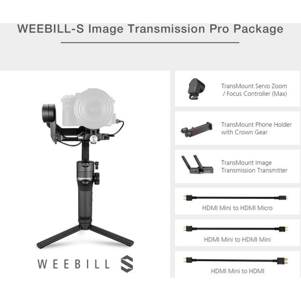 Zhiyun-Tech WEEBILL-S - Image Transmission Pro Package