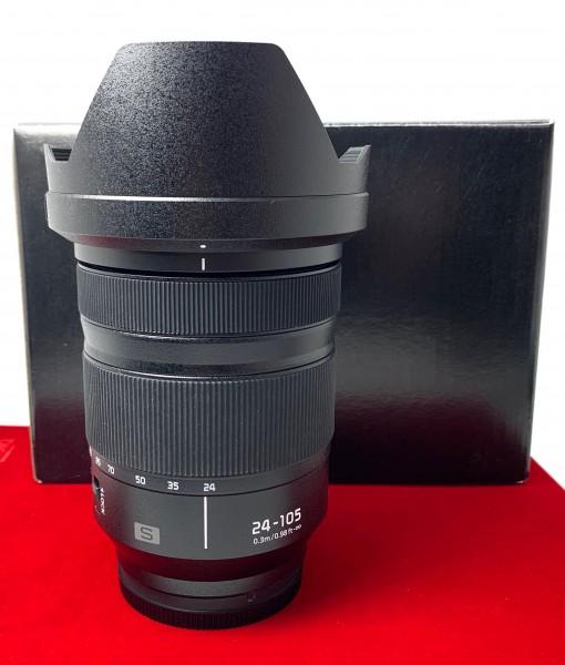 [USED-PJ33]  Panasonic 24-105mm S F4 Macro OIS, 95% Like New Condition (S/N:XF9DA10461)