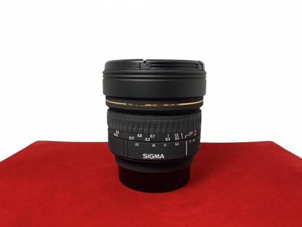 [USED-PJ33] Sigma 8mm F3.5 EX DG  Fisheye Lens (Nikon), 95% Like New Condition (S/N:1018749)