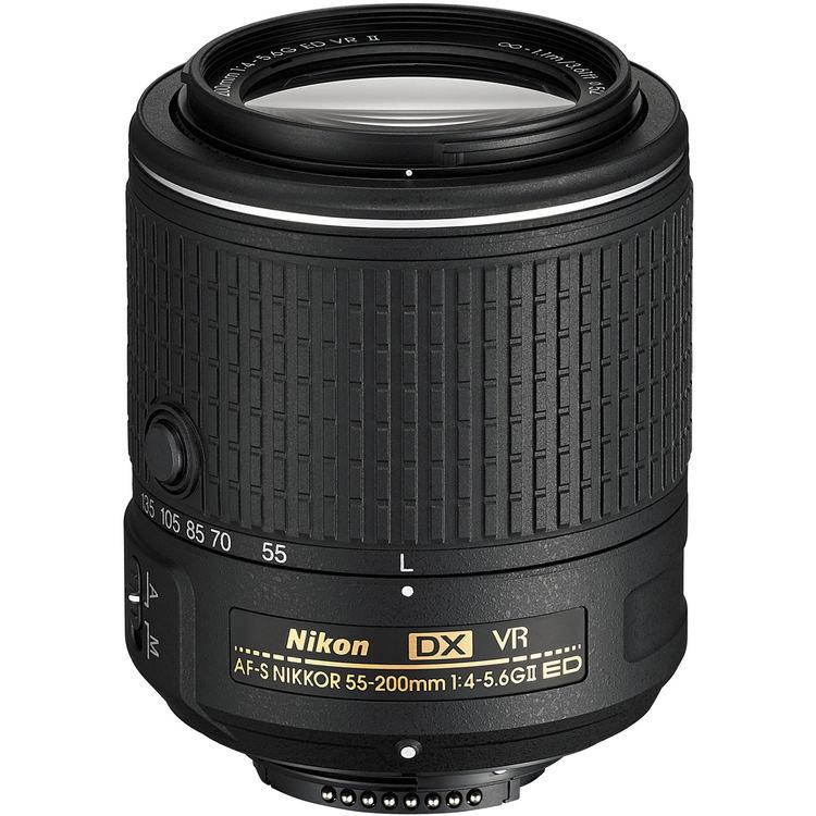 Nikon DX 55-200mm F4-5.6G ED VR II
