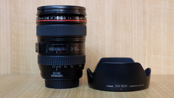 (USED YL LOW YAT)-Canon EF 24-105mm F4 L IS USM Lens,90% Like New Condition,S/N:97012068