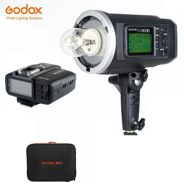 Godox AD600B TTL All-In-One Outdoor Flash X1T-F Fro Fujifilm 1 Light Combo Bag Set