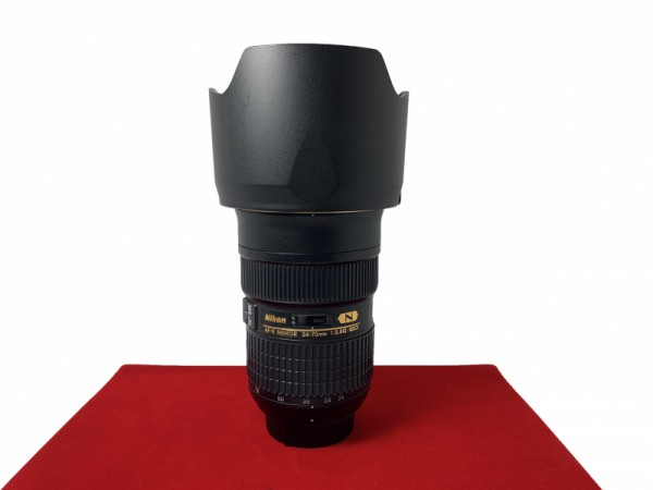 [USED-PJ33] Nikon 24-70MM F2.8 G AFS ED,90% Like New Condition (S/N:560927)