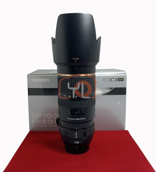 [USED-PJ33] Tamron 70-200MM F2.8 DI VC USD (Nikon), 95% Like New Condition (S/N:011589)