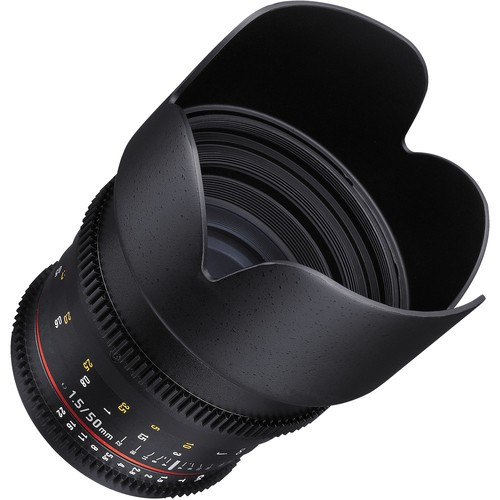 Samyang 50mm T1.5 VDSLR AS UMC Lens for Micro Four Thirds