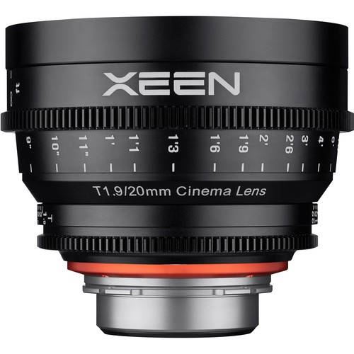 Samyang Xeen 20mm T1.9 Lens with PL Mount