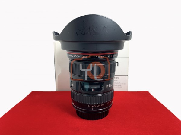 [USED-PJ33] Canon 17-40mm F4 L USM EF, 90% Like New Condition (S/N:1443679)