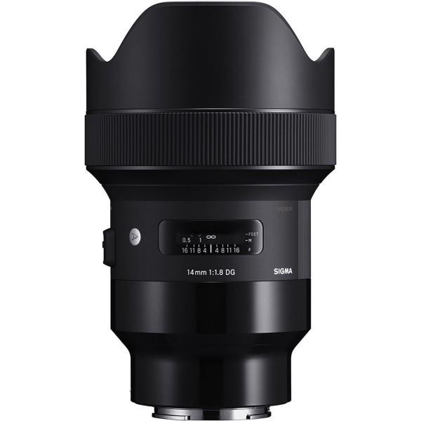 Sigma 14mm F1.8 DG HSM Art Lens (Sony E)