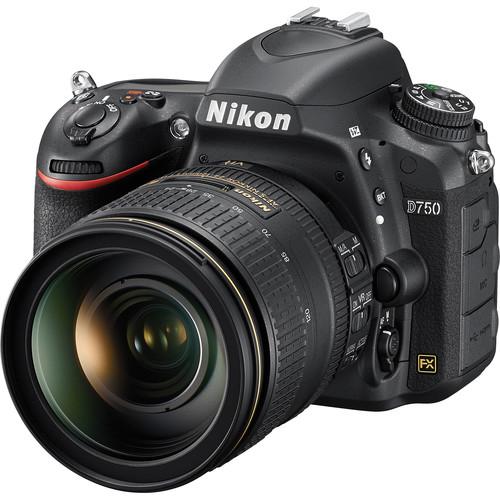 Nikon D750 + 24-120mm F4 AF-S ED VR (Free 16GB SD Card & Camera Bag)