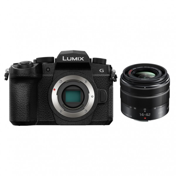 Panasonic Lumix DMC-G95 W/14-42mm [Free Panasonic 16GB SD Card & Carrying Case]