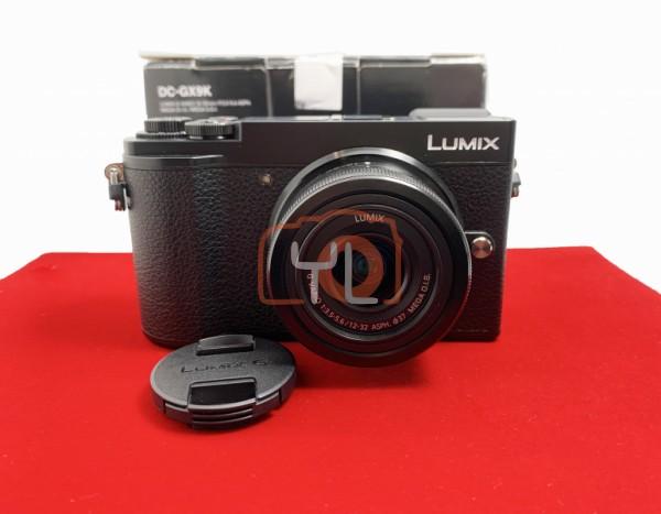 [USED-PJ33] Panasonic DC-GX9K With12-32mm F3.6-5.6 HD MEGA OIS Lumix G ASPH, 95% Like New Condition (S/N:WG8FA001455)