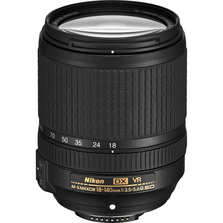 Nikon DX 18-140mm F3.5-5.6G AF-S VR