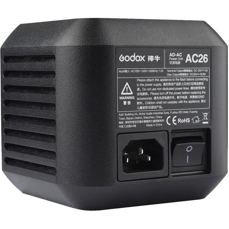 (PER-ORDER) Godox AC Adapter for AD600Pro Witstro Outdoor Flash