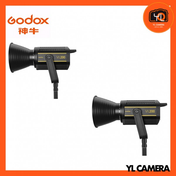 Godox VL200 LED Video Light 2 Light Kit