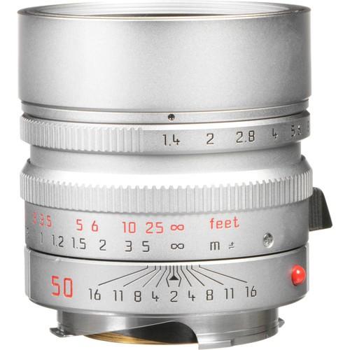 Leica 50mm F1.4 Summilux-M ASPH. - Silver (11892)
