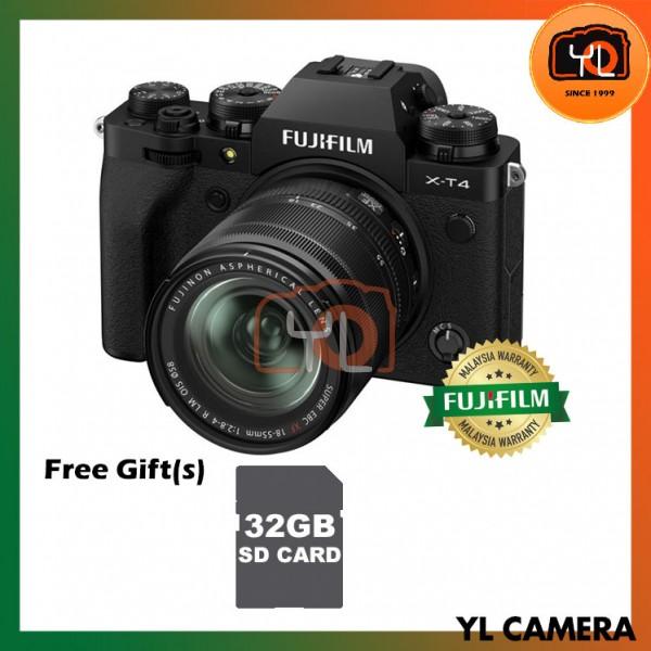 Fujifilm X-T4 + XF 18-55mm f/2.8-4R LM OIS - Black