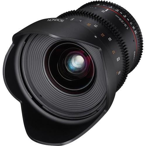 Samyang 20mm T1.9 Cine DS Lens for Sony Alpha Mount