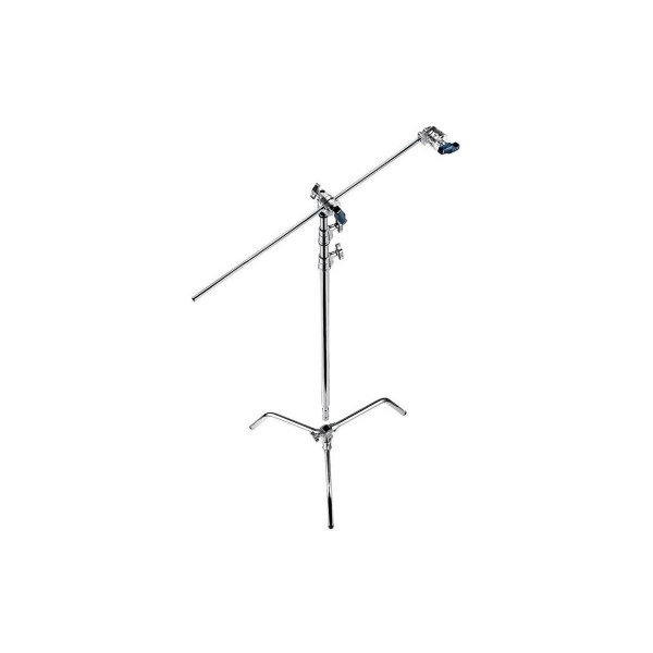 Avenger A2030DKit 9.8' C-Stand 30 Kit with A2030D Turtle Base C-Stand, D520L Extension Arm and D200 Grip Head, Chrome