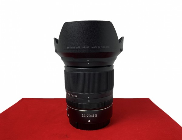 [USED-PJ33] Nikon 24-70MM F4 S Z Lens, 95% Like New Condition (S/N:20028634)