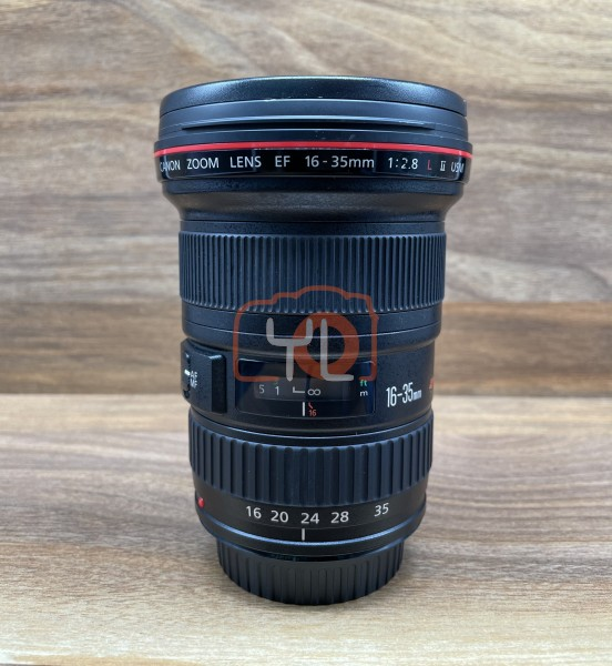 [USED @ YL LOW YAT]-Canon EF 16-35mm F2.8 L II USM Lens,90% Condition Like New,S/N:4398248