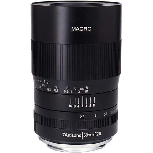 7artisans 60mm F2.8 MACRO For Canon EOS R (Black)