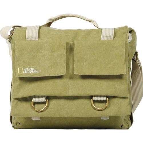 National Geographic Earth Explorer National Geographic 2476 Medium Messenger Bag (Khaki)