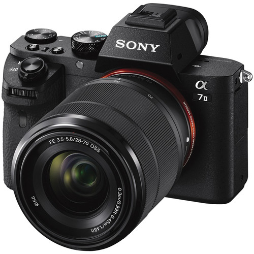 Sony a7 Mark II + FE 28-70mm F3.5-5.6 OSS [Free 16GB SD Card + NP-FW50 + Peak Design Strap]