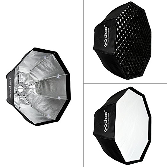 Godox SB GUE80cm Umbrella Octa Soft Box (Bowen Mount)