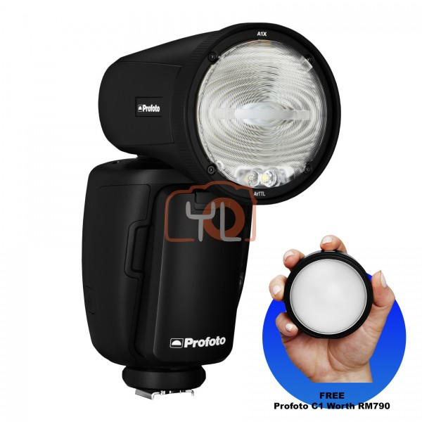 Profoto A1X AirTTL-C Remote and On-camera Flash (Canon) 901204 (Free Profoto C1)