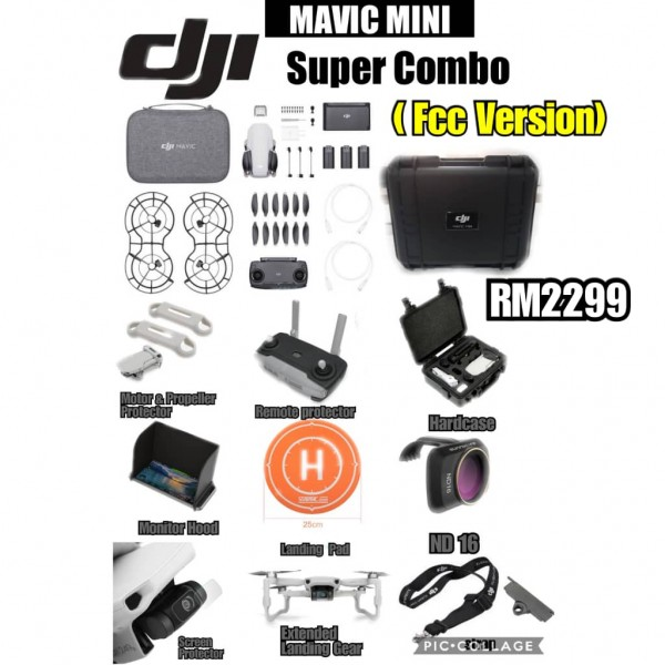 DJI Mavic Mini Super Combo (FCC Version)
