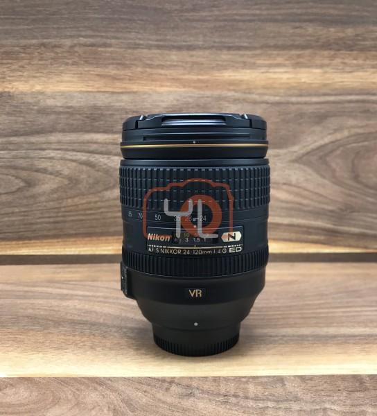[USED @ YL LOW YAT]-Nikon AF-S 24-120mm F4 G ED N VR Lens,90% Condition Like New,S/N:62361687