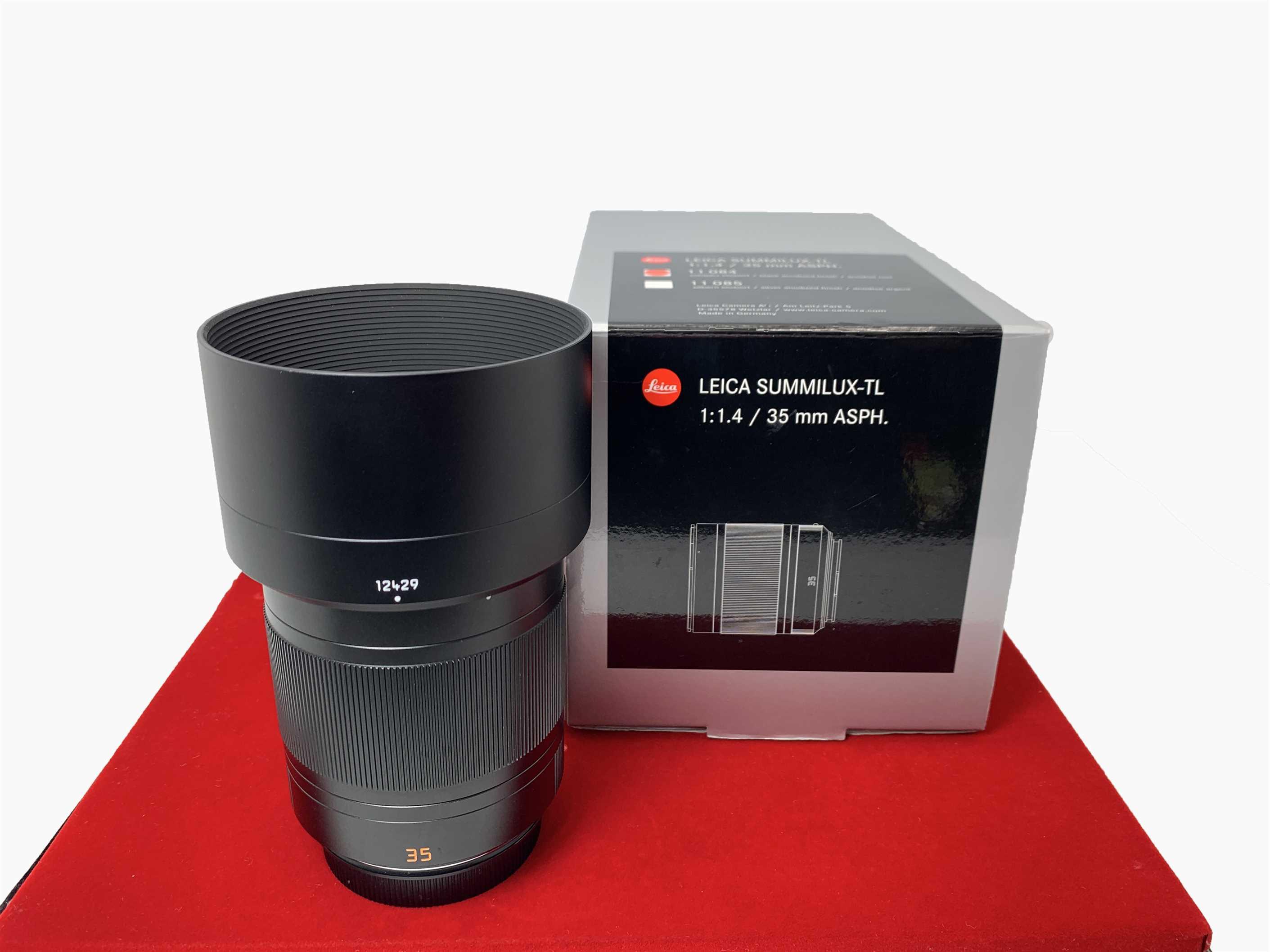 [USED-PJ33] Leica 35MM F1.4 Summilux-TL, 95% Like New Condition (S/N:4590793)