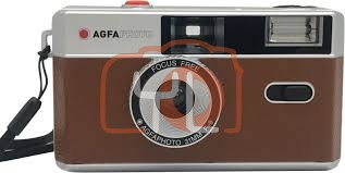 AgfaPhoto 31mm Analogue Camera - Brown
