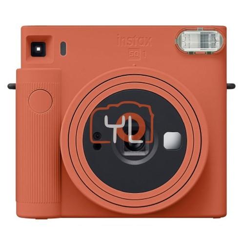 Fujifilm Instax SQ1 (Orange) W/ 1 Packs of Film