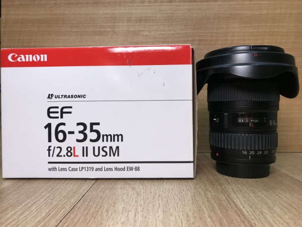 [USED @ YL LOW YAT]-Canon EF 16-35mm F2.8 L II USM Lens,90% Condition Like New,S/N:3992749