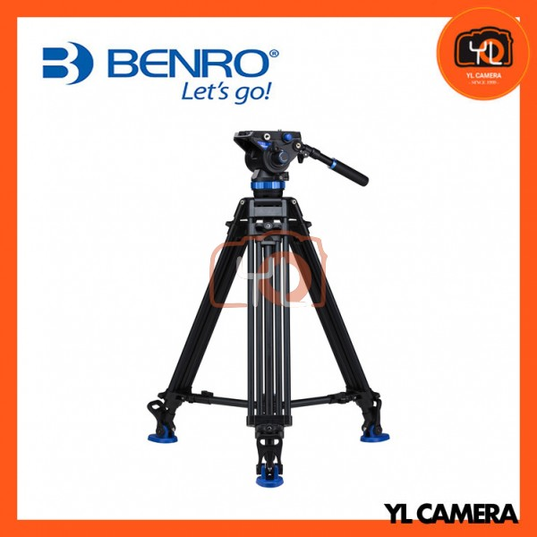 Benro A673TMBS8 Dual Stage Video Tripod Kit