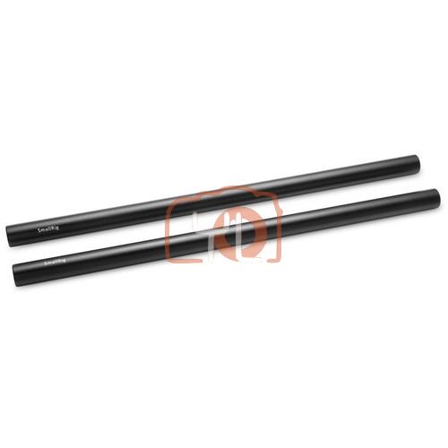 SmallRig 15mm Aluminum Rod (Pair, Black, 12
