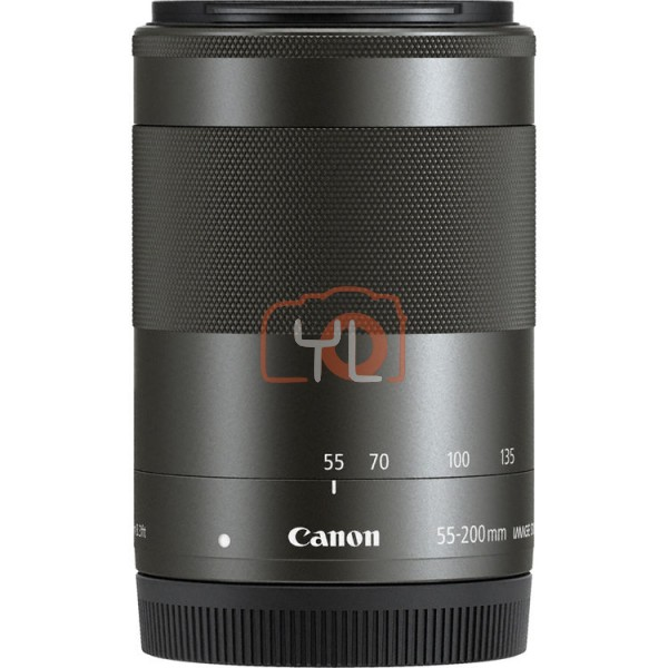 (NO BOX) Canon EF-M 55-200mm F4.5-6.3 IS STM (Black)
