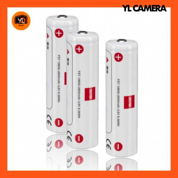 Zhiyun-Tech 18650 Battery 2600mAh for GIMBAL (Pack of 3)