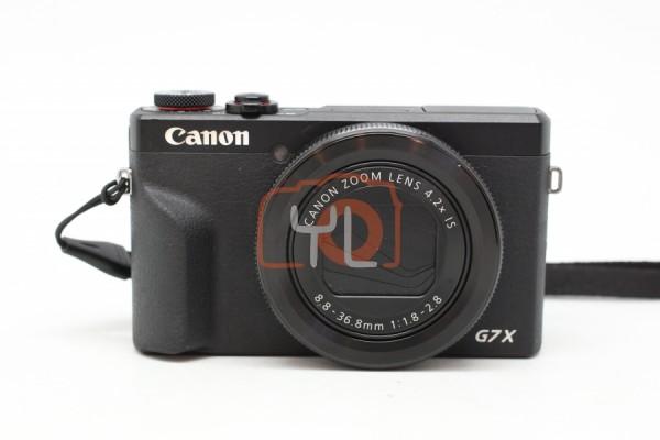 [USED-PUDU] Canon G7X Powershot Mark III (Black)  95%LIKE NEW CONDITION SN:088054000923