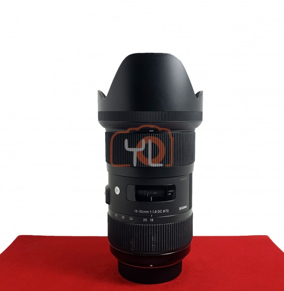 [USED-PJ33] Sigma 18-35MM F1.8 DC ART Lens  (Nikon Mount), 90% Like New Condition (S/N:51889275)
