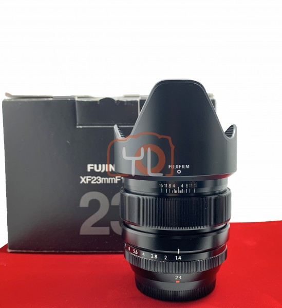 USED-PJ33] Fujifilm 23mm F1.4 R XF, 90% Like New Condition (S/N:75A10808)
